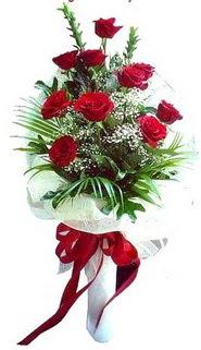 Muğla anneler günü çiçek yolla  10 adet kirmizi gül buketi demeti
