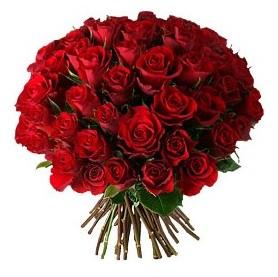 Muğla 14 şubat sevgililer günü çiçek  33 adet kırmızı gül buketi