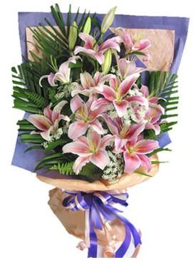 7 dal kazablankadan görsel buket  Muğla hediye çiçek yolla