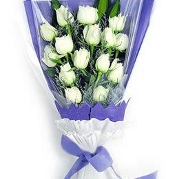 Muğla çiçek online çiçek siparişi  11 adet beyaz gül buket modeli