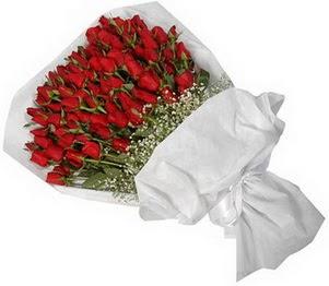 Muğla internetten çiçek siparişi  51 adet kırmızı gül buket çiçeği