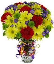 En güzel hediye karışık mevsim çiçeği  Muğla hediye sevgilime hediye çiçek
