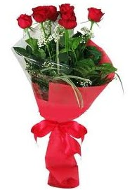Çiçek yolla sitesinden 7 adet kırmızı gül  Muğla çiçek mağazası , çiçekçi adresleri