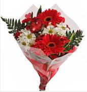 Mevsim çiçeklerinden görsel buket  Muğla kaliteli taze ve ucuz çiçekler