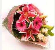 1 dal kazablanka ve mevsim çiçekleri  Muğla güvenli kaliteli hızlı çiçek