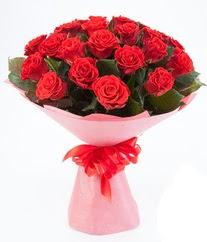 15 adet kırmızı gülden buket tanzimi  Muğla çiçek servisi , çiçekçi adresleri