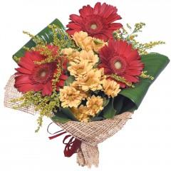 karışık mevsim buketi  Muğla çiçek online çiçek siparişi