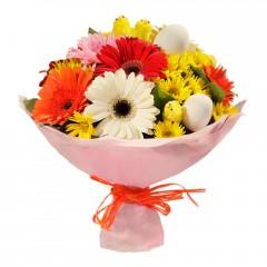 Karışık mevsim buketi Mevsimsel çiçek  Muğla güvenli kaliteli hızlı çiçek