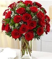 Vazo içerisinde 33 adet kırmızı gül  Muğla çiçek yolla , çiçek gönder , çiçekçi