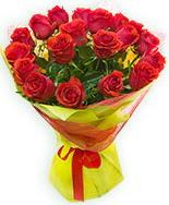 19 Adet kırmızı gül buketi  Muğla yurtiçi ve yurtdışı çiçek siparişi
