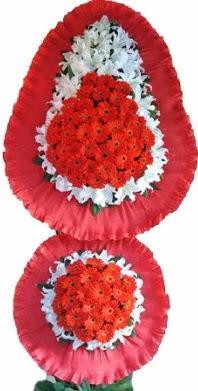 Muğla online çiçekçi , çiçek siparişi  Çift katlı kaliteli düğün açılış sepeti
