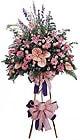 Muğla çiçekçi mağazası   Ferforje Pembe kazablanka