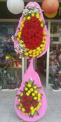 Çift katlı düğün nikah açılış çiçek modeli  Muğla kaliteli taze ve ucuz çiçekler