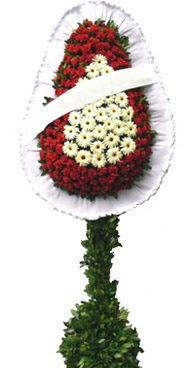 Çift katlı düğün nikah açılış çiçek modeli  Muğla internetten çiçek siparişi