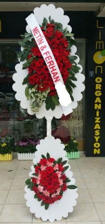Çift katlı düğün nikah çiçeği modeli  Muğla çiçek servisi , çiçekçi adresleri