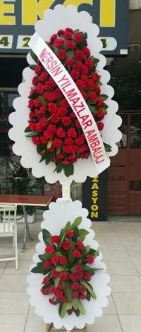 Çift katlı düğün nikah çiçeği modeli  Muğla hediye sevgilime hediye çiçek