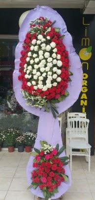 Çift katlı işyeri açılış çiçek modeli  Muğla anneler günü çiçek yolla