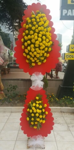 Düğün nikah açılış çiçek modeli  Muğla çiçek servisi , çiçekçi adresleri