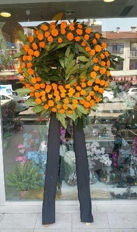 Cenaze çiçeği cenaze çelengi çiçek modeli  Muğla cicek , cicekci
