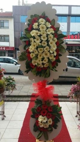 Çift katlı düğün açılış çiçeği  Muğla uluslararası çiçek gönderme