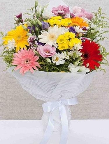 Karışık Mevsim Buketleri  Muğla anneler günü çiçek yolla