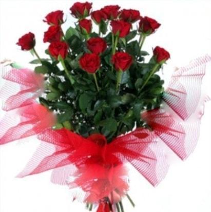 15 adet kırmızı gül buketi  Muğla çiçek yolla , çiçek gönder , çiçekçi