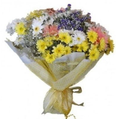 Karışık mevsim çiçeği  Muğla uluslararası çiçek gönderme