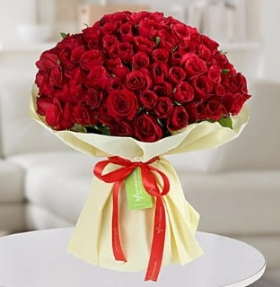 101 adet kırmızı gül buketi koca demet  Muğla güvenli kaliteli hızlı çiçek