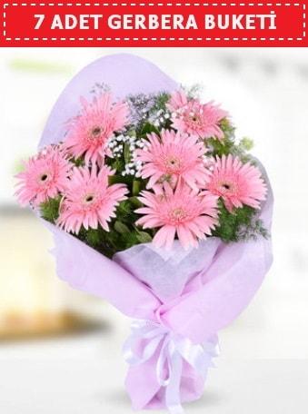 Pembe Gerbera Buketi  Muğla 14 şubat sevgililer günü çiçek