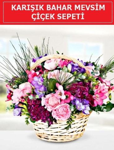 Karışık mevsim bahar çiçekleri  Muğla anneler günü çiçek yolla
